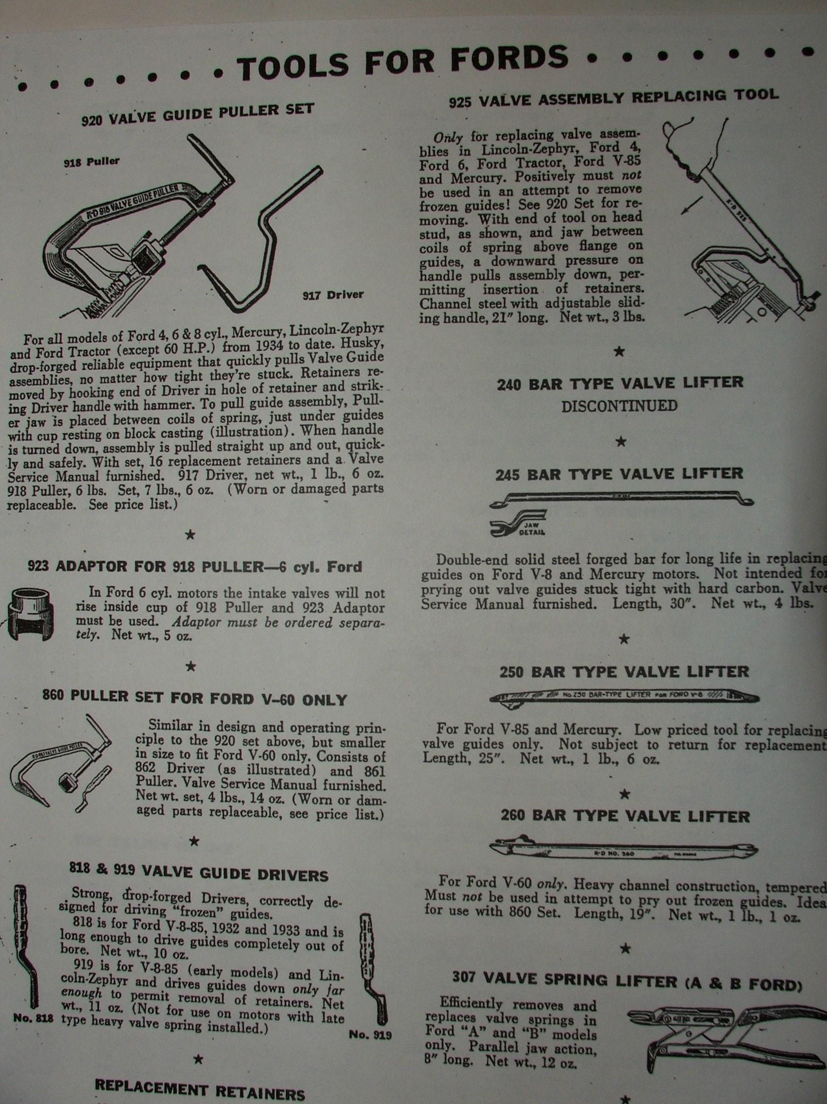 NAFTCO Tool Manual Pg. 2